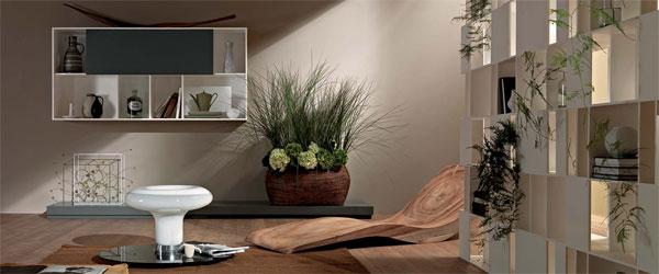 Police za modernu dnevnu sobu
