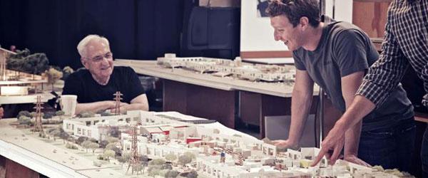 Frank Gehry predstavio projekat novog kampusa Facebooka