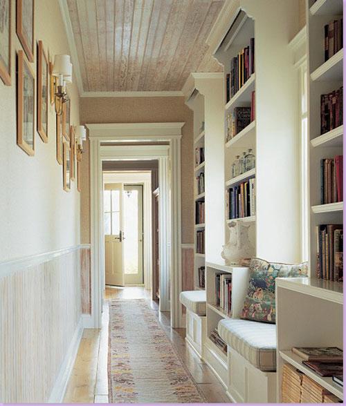 Kako urediti hodnik Hallway wallpaper inspiration