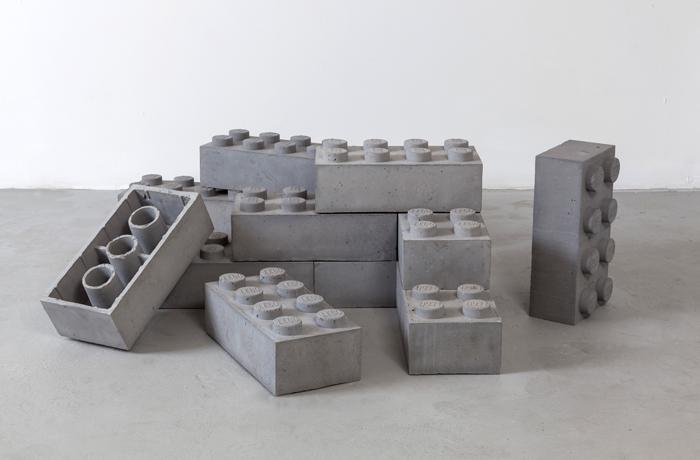 Od igre do umetnosti: Lego kocke od betona