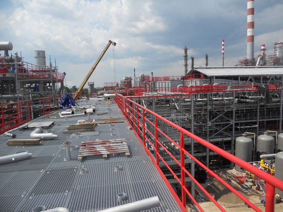 Foto-raport: Modernizacija Rafinerije nafte Pančevo