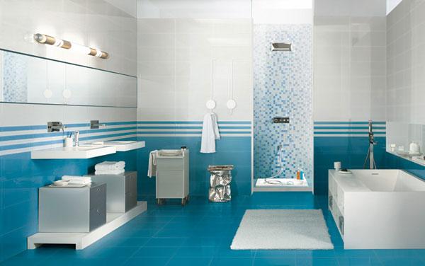Cerim pločice za plavo kupatilo i kuhinju
