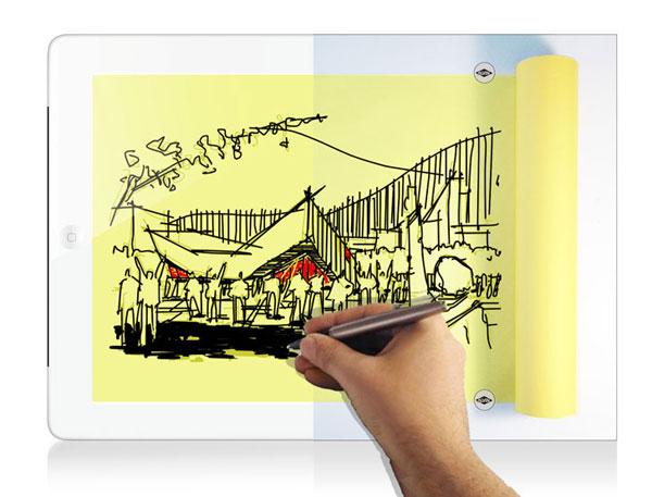 Projektovanje na iPadu slobodnom rukom