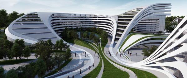 Masterplan beogradskog hotela Zahe Hadid