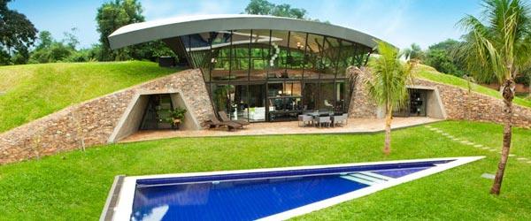 Impresivna dvojna kuća u Paragvaju