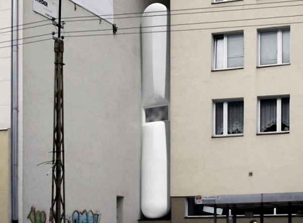 Useljena najuža zgrada na svetu
