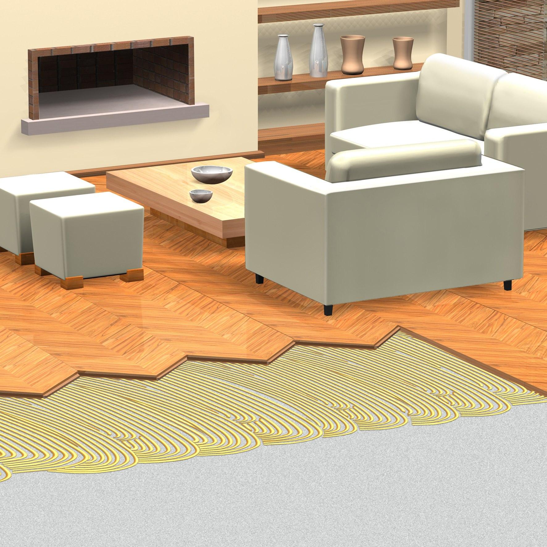 Elastični lepkovi za drvene podove