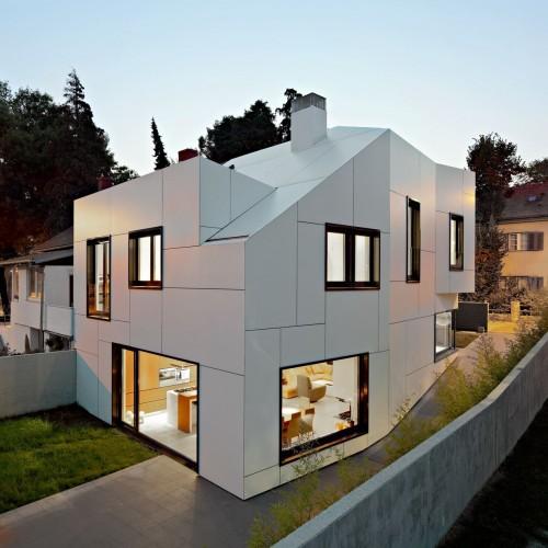 Kuća A+A od DVA arhitekta u Zagrebu