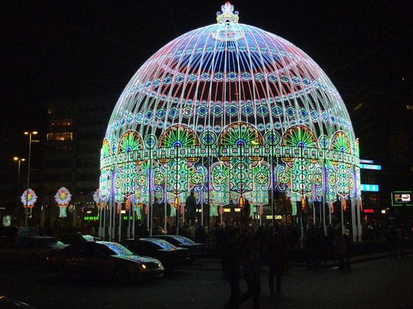 Kupola od 30.000 LED svetiljki u Holandiji