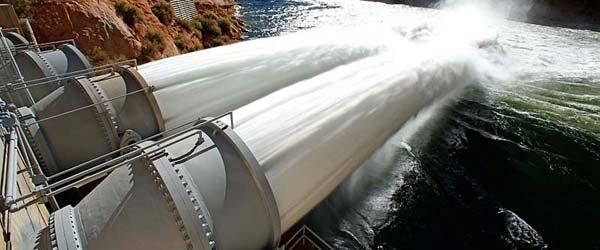 Veštačka poplava: Otvoreni ispusti na brani Kolorado