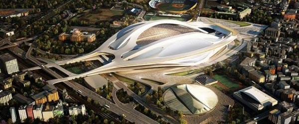 11 predloga za japanski Nacionalni stadion