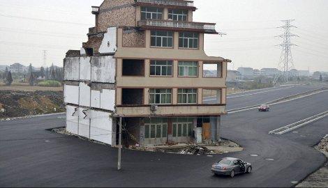 Kinezi napravili auto-put oko kuće