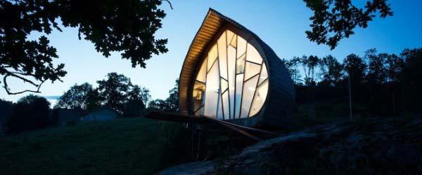 Neobični projekti: Mala kuća u prirodi