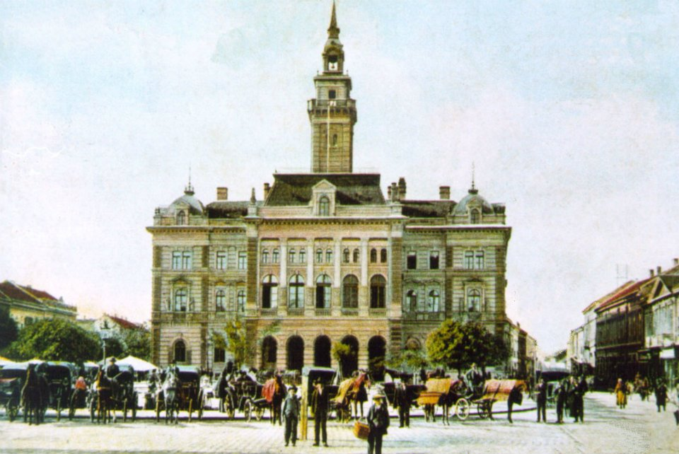 Kako je Novi Sad izgledao pre sto godina