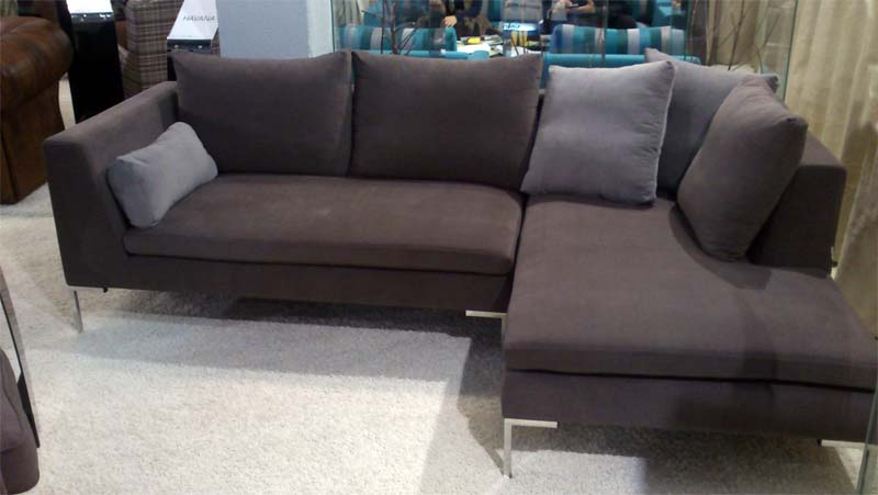 Ugaona sofa proizvođača Furniture Forest na sajmu nameštaja