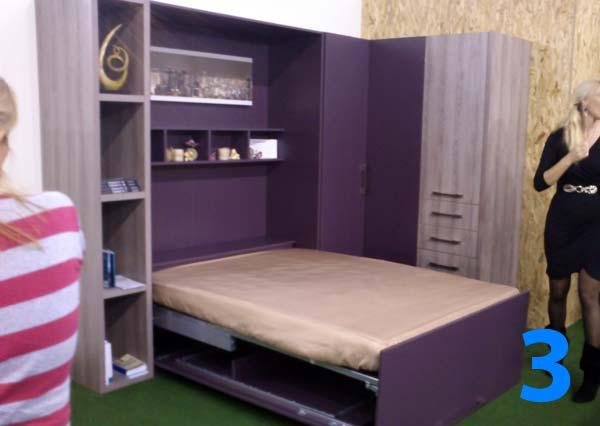 Sajam nameštaja 2012: Darexovi zidni kreveti