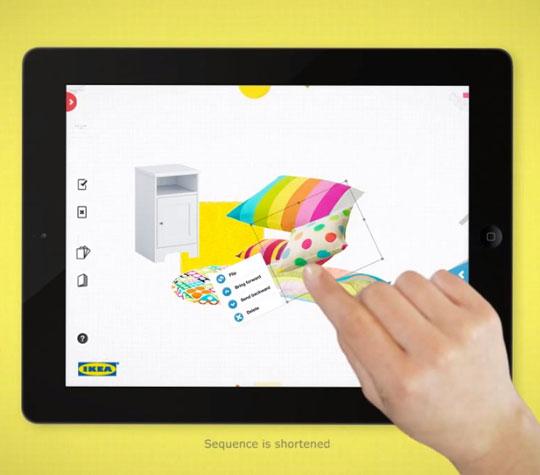 Razmeštanje nameštaja sa Ikeinom aplikacijom za iPad