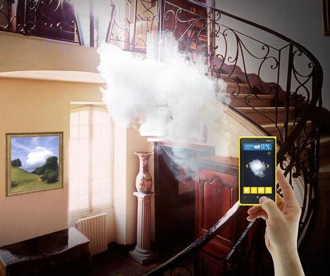 Napravite oblak u sobi