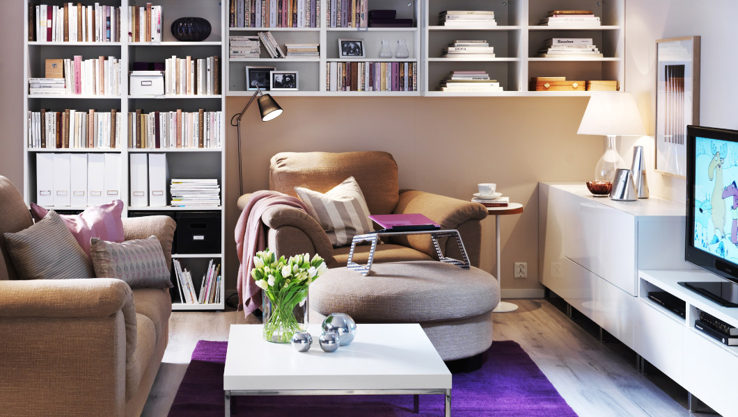 Ikea najbolje dnevne sobe za 2013 for Casa 50 mq ikea