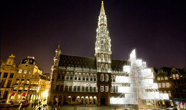 Ultramoderna jelka u Belgiji