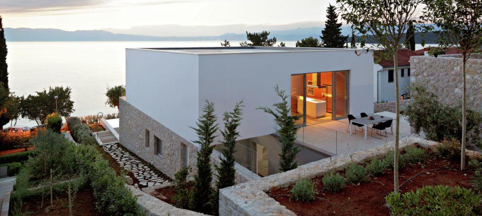 Kuća na Krku od DVA arhitekta