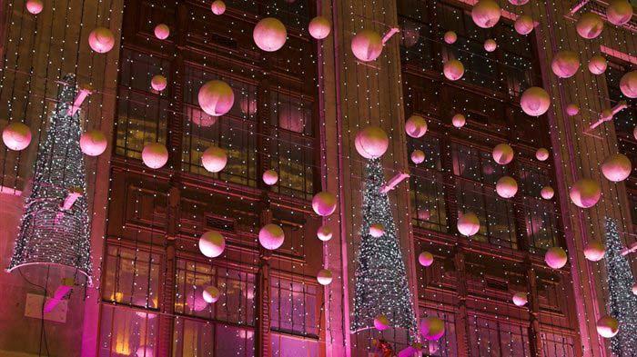 Novogodišnja dekoracija Londona
