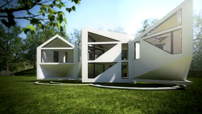 Kuća koja menja oblik u zavisnosti od vremenskih uslova