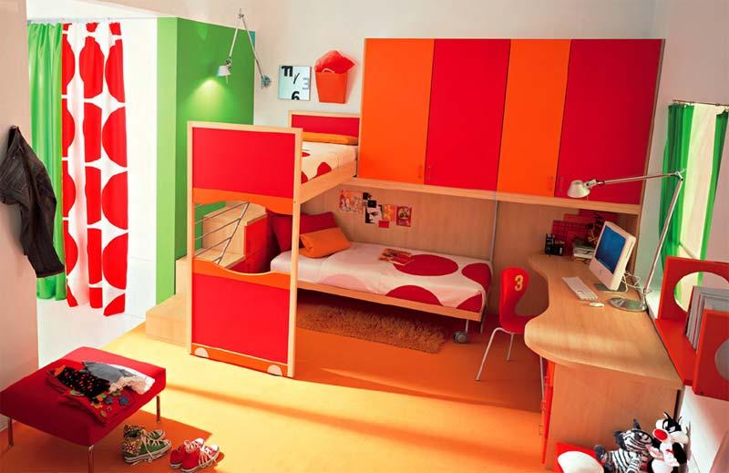 10 mẫu thiết kế giường tầng để phòng ngủ nhỏ không còn là ác mộng