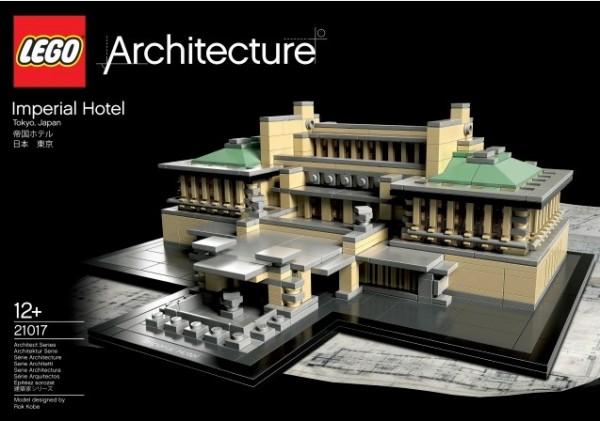 Novo u serijalu Lego Architecture: Wrightov Imperial Hotel