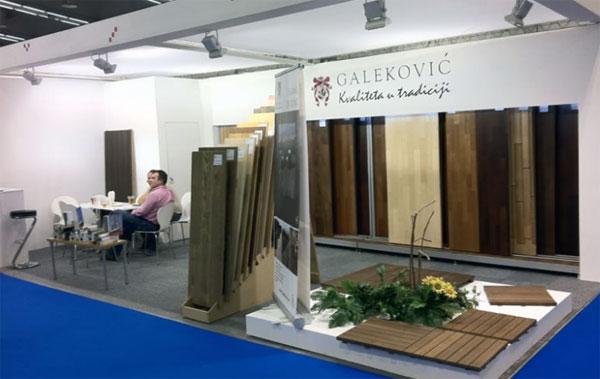 Galeković izlagao na sajmu nameštaja u Beogradu