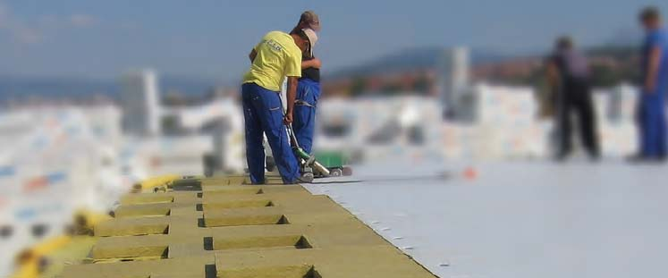 Izolacija ravnih krovova