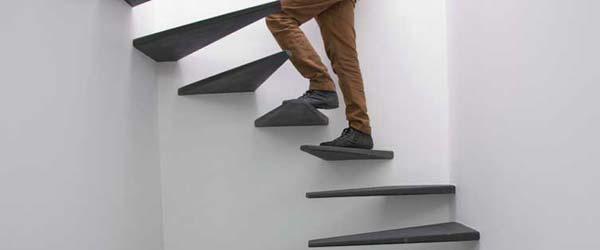 Konzolna stepeništa bez rukohvata