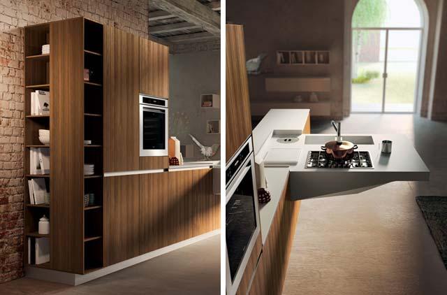 kuhinja-braon-moderna
