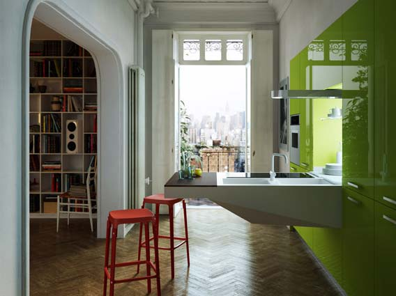 kuhinja-zelena-moderna-4