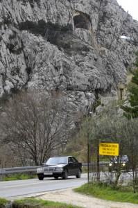 Split, 22.01.2013 -  Probijen je tunel koji je dio zaobilaznice Omisa
