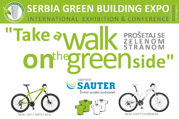 Prošetaj zelenom stranom i osvoji bicikl na Sajmu zelene gradnje