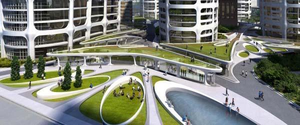 Zaha Hadid projektuje novi centar Bratislave