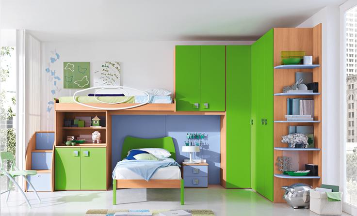 decija soba sa dva kreveta