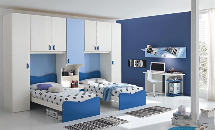 Kako urediti sobu za dva deteta