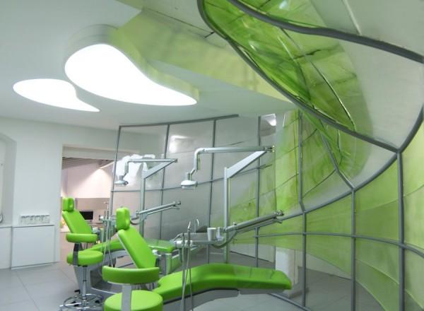 Liquid Walls Dental Practice Überlingen, Germany Designed by Atelier H-2-A