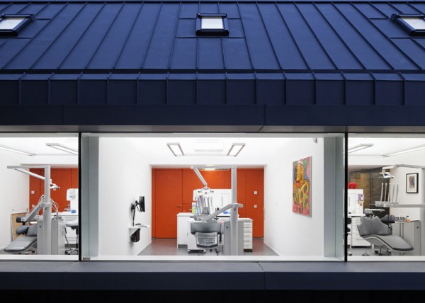 Dentist with a view Best, Netherlands Designed by SHIFT A+U