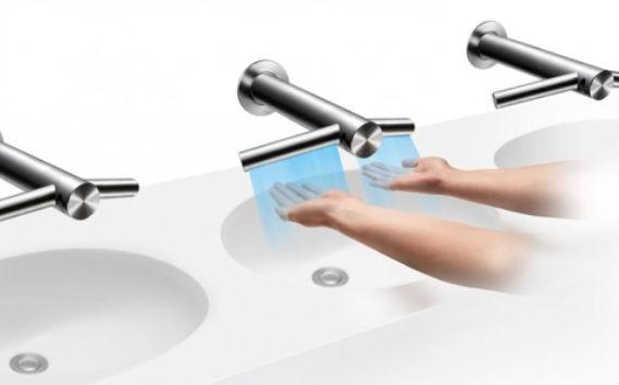 Beskontaktne slavine za čiste i suve ruke