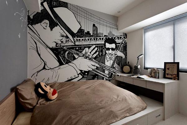 Uređenje zidova: murali i fototapete