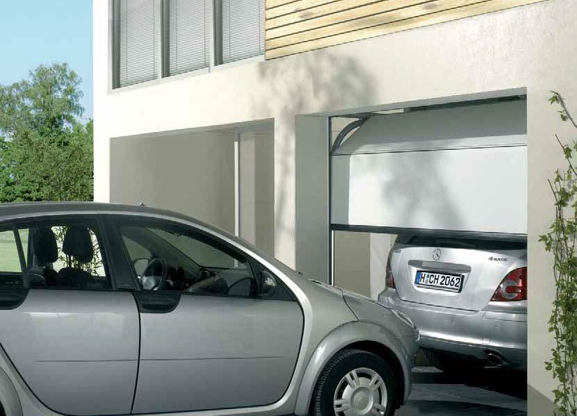 Štede prostor: Segmentna garažna vrata