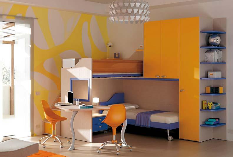 plavo-narandzasta-soba