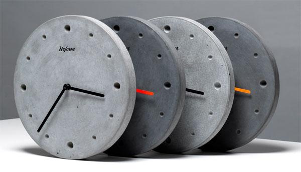 Zidni satovi od betona