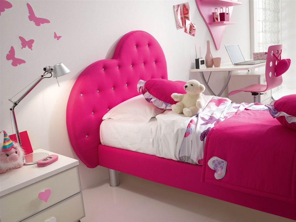 Roza i lila soba za devojčice