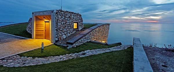 Pasivna kuća s nagibom u Bugarskoj