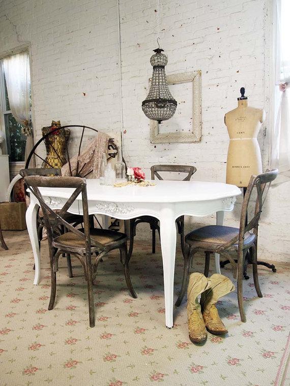 sto i stolice rustik