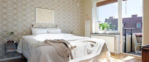 Svetla spavaća soba: primeri iz prakse
